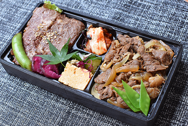 牛丼&カルビ弁当