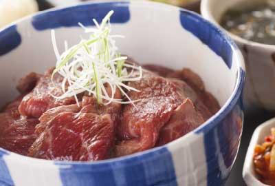和風ローストビーフ丼