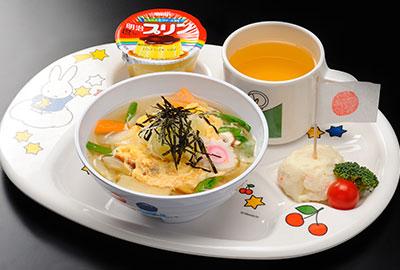 お子様温麺 650円