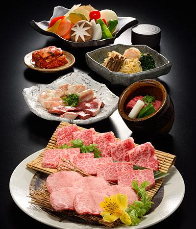 お得な焼肉大皿盛り・月虎(つきとら)
