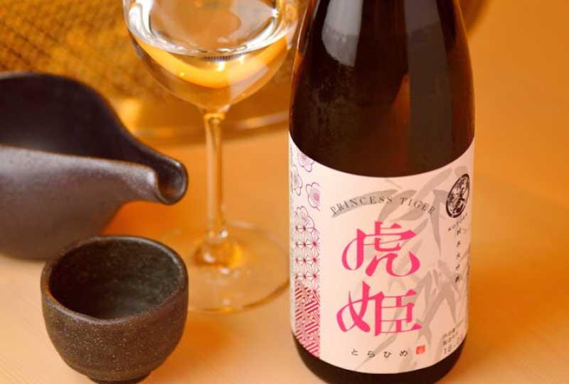 仔虎×新澤醸造店オリジナル日本酒「虎姫」