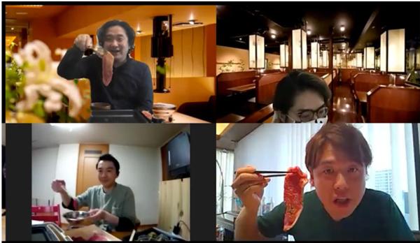 仔虎 オンライン焼肉パーティー開催